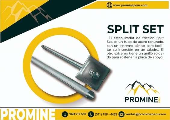 Estabilizador de friccion - split set